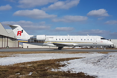 R1 Airlines Bombardier CRJ200ER Challenger 850 C-FPOI (msn 8047) YYZ (TMK Photography). Image: 940988.