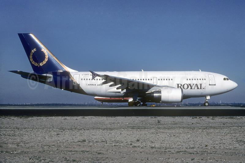 Royal Airlines (Canada) (Royal Aviation) Airbus A310-304 C-GRYI (msn 432) JFK (Roy Lock). Image: 929989.
