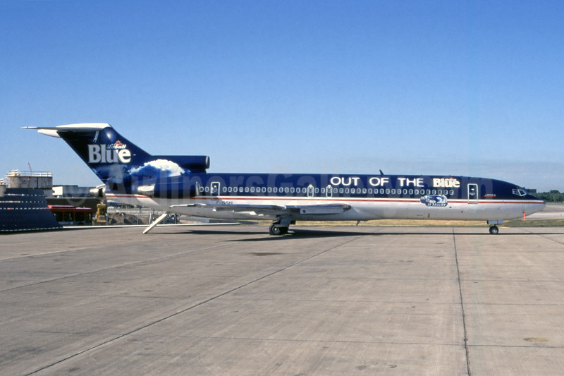 """""""Out of the Blue Jetaway"""" special livery"""