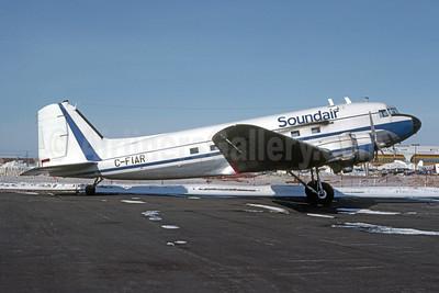 Soundair Douglas C-47B- DL (DC-3) C-FIAR (msn 20877) YYZ (Chet Eleveld - Bruce Drum Collection). Image: 952480.