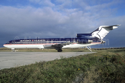 Sport Hawk International Airlines (Canada) Boeing 727-231 C-GSHI (msn 20055) YVR (Christian Volpati Collection). Image: 936619.