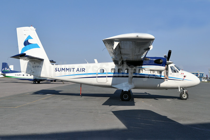 Summit Air Charters (Canada) de Havilland Canada DHC-6-300 Twin Otter C-FTFX (msn 340) YZF (Tony Storck). Image: 923895.