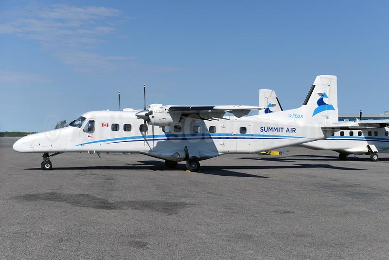 Summit Air Charters (Canada) Dornier 228-201 C-FEQX (msn 8101) YZF (Ton Jochems). Imag