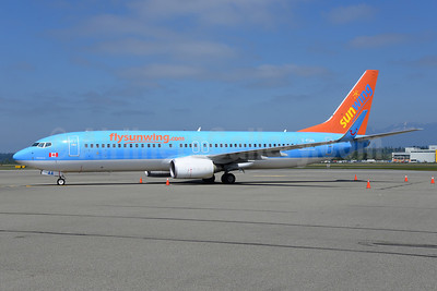 Sunwing Airlines (flysunwing.com) Boeing 737-8BK WL C-FUAA (msn 29660) (Jetairfly colors) YVR (Ton Jochems). Image: 912648.