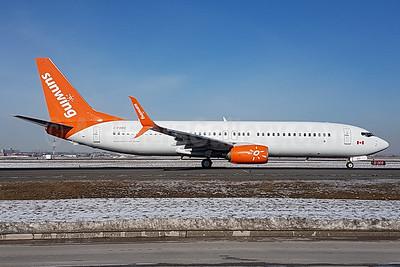 Sunwing Airlines Boeing 737-8Q8 SSWL C-FDBD (msn 30703) YYZ (TMK Photography). Image: 937020.