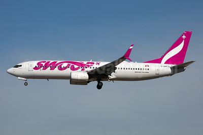 Swoop (WestJet) Boeing 737-8CT SSWL C-GNDG (msn 40337) LAS (Rainer Bexten). Image: 951285.