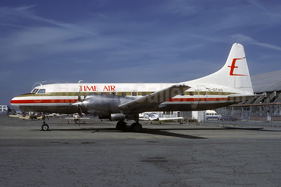 Time Air Convair 580 C-GTAO (msn 116) YVR (Christian Volpati Collection). Image: 947931.