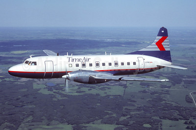 Time Air - Canadian Partner Convair 640 C-FPWS (msn 441) (Canadian Partner colors) (Henry Tenby - Christian Volpati Collection). Image: 947933.