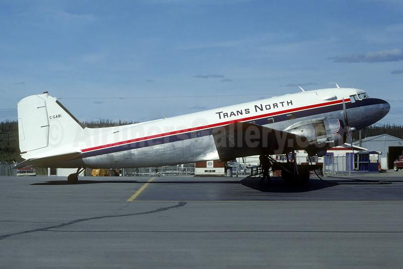 Trans North Air Douglas C-47B-DK (DC-3) C-GABI (msn 26815) (Christian Volpati Collection). Image: 936828.