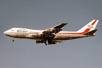 Wardair Canada Boeing 747-1D1 C-FFUN (msn 20305) YYZ (TMK Photography). Image: 942342.