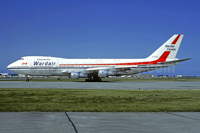 Wardair Canada Boeing 747-1D1 C-FDJC (msn 20208) YYZ (Christian Volpati Collection). Image: 943495.