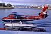 Westcoast Air de Havilland Canada DHC-6-100 Twin Otter C-FWTE (msn 96) (Walsten Air colors) YWH (Robbie Shaw). Image: 901801.