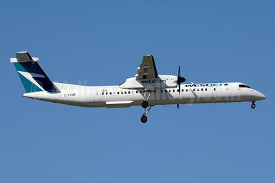 WestJet Encore Bombardier DHC-8-402 (Q400) C-FUWE (msn 4477) YYZ (Jay Selman). Image: 403933.