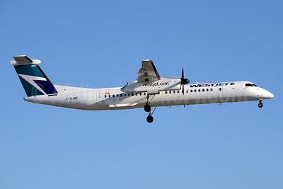WestJet Encore Bombardier DHC-8-402 (Q400) C-GJWE (msn 4460) YYZ (Jay Selman). Image: 403934.
