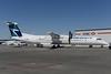 WestJet Encore Bombardier DHC-8-402 (Q400) C-GWEG (msn 4488) YYC (Ton Jochems). Image: 929795.