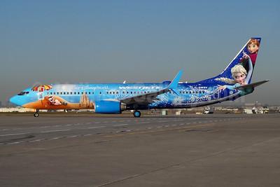WestJet's Walt Disney's Frozen special livery