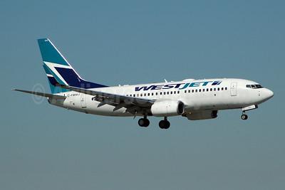 WestJet Airlines Boeing 737-7CT WL C-FMWJ (msn 32771) FLL (Bruce Drum). Image: 101460.