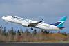 WestJet Airlines Boeing 737-8CT SSWL C-FBWI (msn 39090) PAE (Nick Dean). Image: 937235.