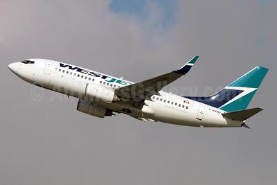 WestJet Airlines Boeing 737-7CT WL C-GVWJ (msn 36421) LAX (Michael B. Ing). Image: 936872.