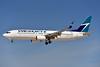 WestJet Airlines Boeing 737-8CT SSWL C-GWBU (msn 39075) LAS (Eddie Maloney). Image: 925376.