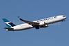 WestJet Airlines Boeing 767-338 ER WL C-FOGJ (msn 25274) LGW (SPA). Image: 936504.