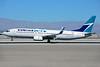 WestJet Airlines Boeing 737-8CT WL C-FCNW (msn 39092) LAS (Ton Jochems). Image: 920983.