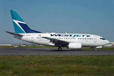 WestJet Airlines Boeing 737-6CT C-GWSB (msn 34285) YYZ (TMK Photography). Image: 900012.