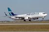WestJet Airlines Boeing 737-8CT SSWL C-GKWJ (msn 34151) YYC (Chris Sands). Image: 925752.