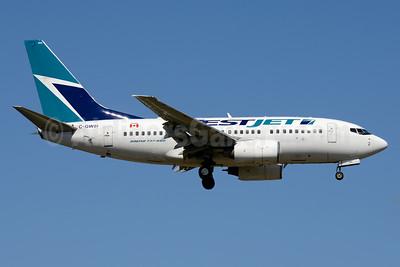 WestJet Airlines Boeing 737-6CT C-GWSI (msn 34286) PBI (Jay Selman). Image: 403605.