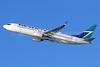 WestJet Airlines Boeing 737-8CT SSWL C-FKWJ (msn 36435) LAX (Michael B. Ing). Image: 936418.