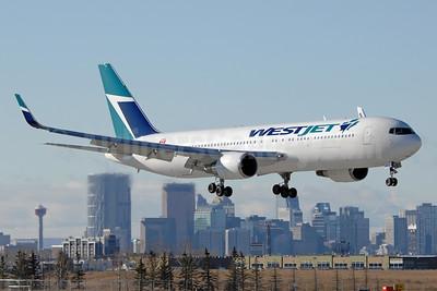 Arriving back at Calgary, Alberta