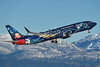 WestJet Airlines Boeing 737-8CT SSWL C-GWSZ (msn 37092) (Walt Disney World - Magic Plane) YVR (Steve Bailey). Image: 936503.