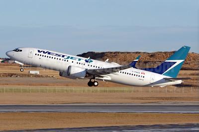 WestJet Airlines Boeing 737-8 MAX 8 C-FNAX (msn 60511) YYC (Chris Sands). Image: 940862.