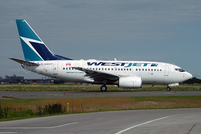 WestJet Airlines Boeing 737-6CT C-GWCY (msn 35113) YYZ (TMK Photography). Image: 905049.