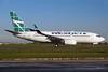 WestJet Airlines Boeing 737-7CT WL C-GQWJ (msn 35505) (Tartan Tail) YYZ (TMK Photography). Image: 927790.