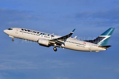 WestJet Airlines Boeing 737-8CT SSWL C-GVWA (msn 39088) YYC (Ken Petersen). Image: 939577.