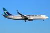 WestJet Airlines Boeing 737-8CT SSWL C-FWIJ (msn 39072) LAX (Michael B. Ing). Image: 933901.