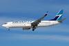 WestJet Airlines Boeing 737-8CT SSWL C-GVWA (msn 39088) LAS (Bruce Drum). Image: 103845.