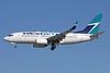 WestJet Airlines Boeing 737-7CT WL C-GWSY (msn 37421) LAX (Michael B. Ing). Image: 910143.