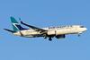 WestJet Airlines Boeing 737-8CT SSWL C-FUJR (msn 60130) YYZ (Jay Selman). Image: 403396.