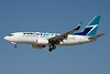 WestJet Airlines Boeing 737-76N WL C-GWSH (msn 29886) LAS (Jay Selman). Image: 403427.