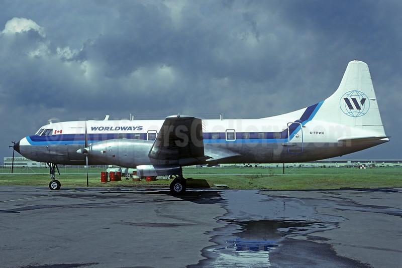 Worldways Canada Convair 640 C-FPWU (msn 10) (Christian Volpati Collection). Image: 932009.