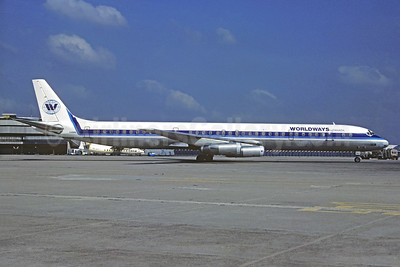 Worldways Canada McDonnell Douglas DC-8-63 C-FCPQ (msn 45928) ORY (Jacques Guillem Collection). Image: 929980.