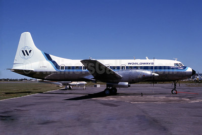 Worldways Canada Convair 640 C-FPWU (msn 10) YUL (Steve Bailey). Image: 929979.