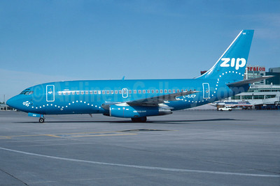 Zip Air (4321zip.com) (Air Canada) Boeing 737-217 C-GJCP (msn 22728) YYZ (TMK Photography). Image: 912115.