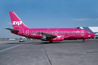 Zip Air (4321zip.com) (Air Canada) Boeing 737-217 C-GMCP (msn 22864) YYZ (TMK Photography). Image: 912116.