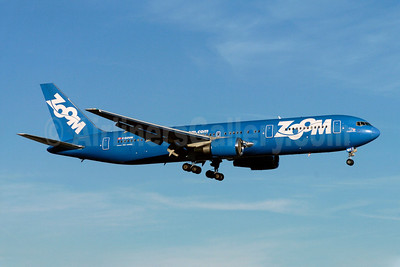 Zoom Airlines (Canada) Boeing 767-328 ER C-GZUM (msn 27135) YYZ (TMK Photography). Image: 900305.