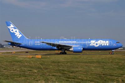Zoom Airlines (Canada) Boeing 767-306 ER C-GZNC (msn 26263) LGW (Antony J. Best). Image: 900304.