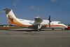 LIAT-The Caribbean Airline Bombardier DHC-8-103 Dash 8 V2-LDU (msn 270) OPF (Bruce Drum). Image: 104196.