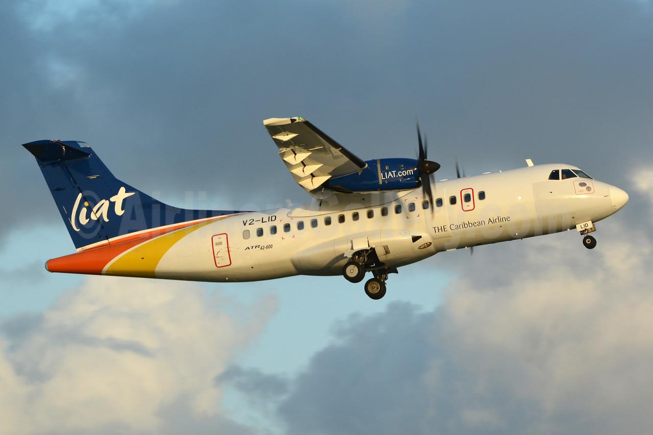 LIAT-The Caribbean Airline ATR 42-600 V2-LID (msn 1006) OGL (Jay Selman). Image: 402979.